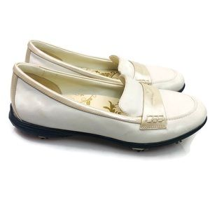 Callaway | Penny Loafer Golf Shoes Cream Size 8